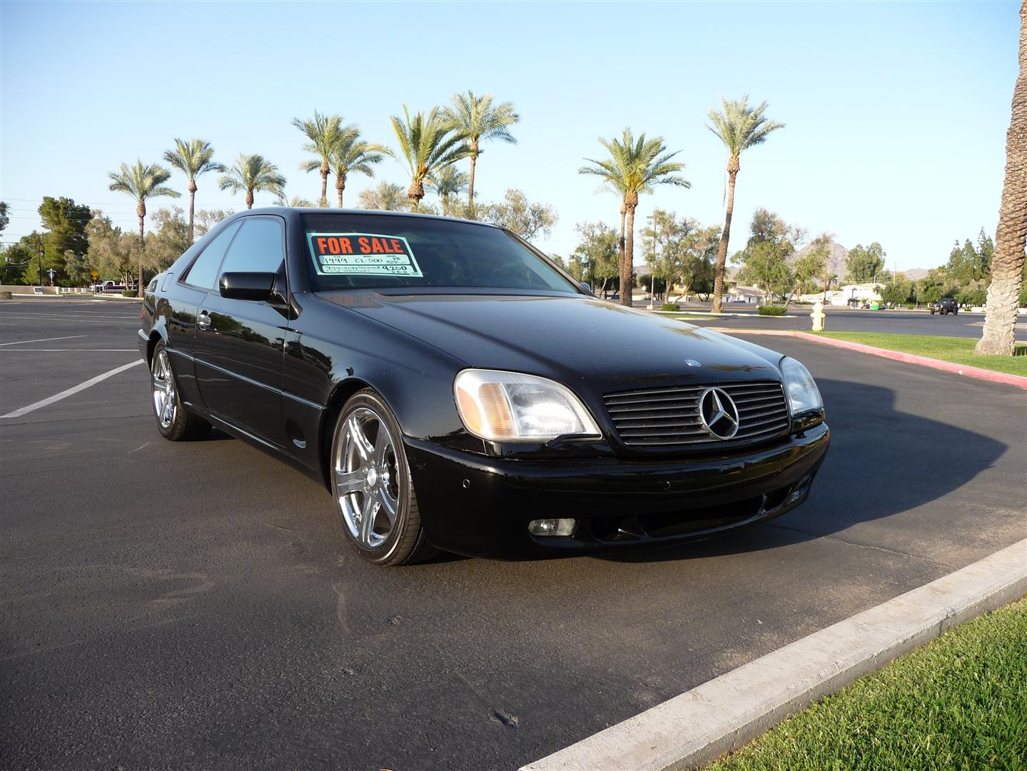 Fs 1999 cl 500 9250 obo mercedes benz forum for 1999 mercedes benz cl500 for sale